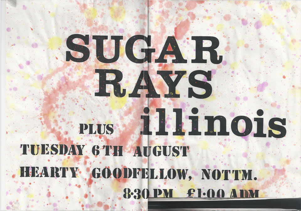 Sugar Rays plus illinois at the Hearty Goodfellow Poster